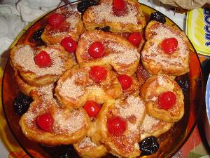 receita ceia natal barata rápida simples light rabanada diet assada doce de leite mesa