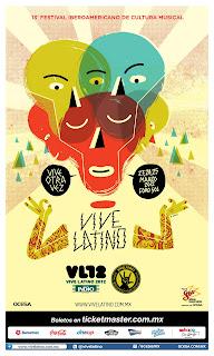 Vive Latino 2012 Cartel