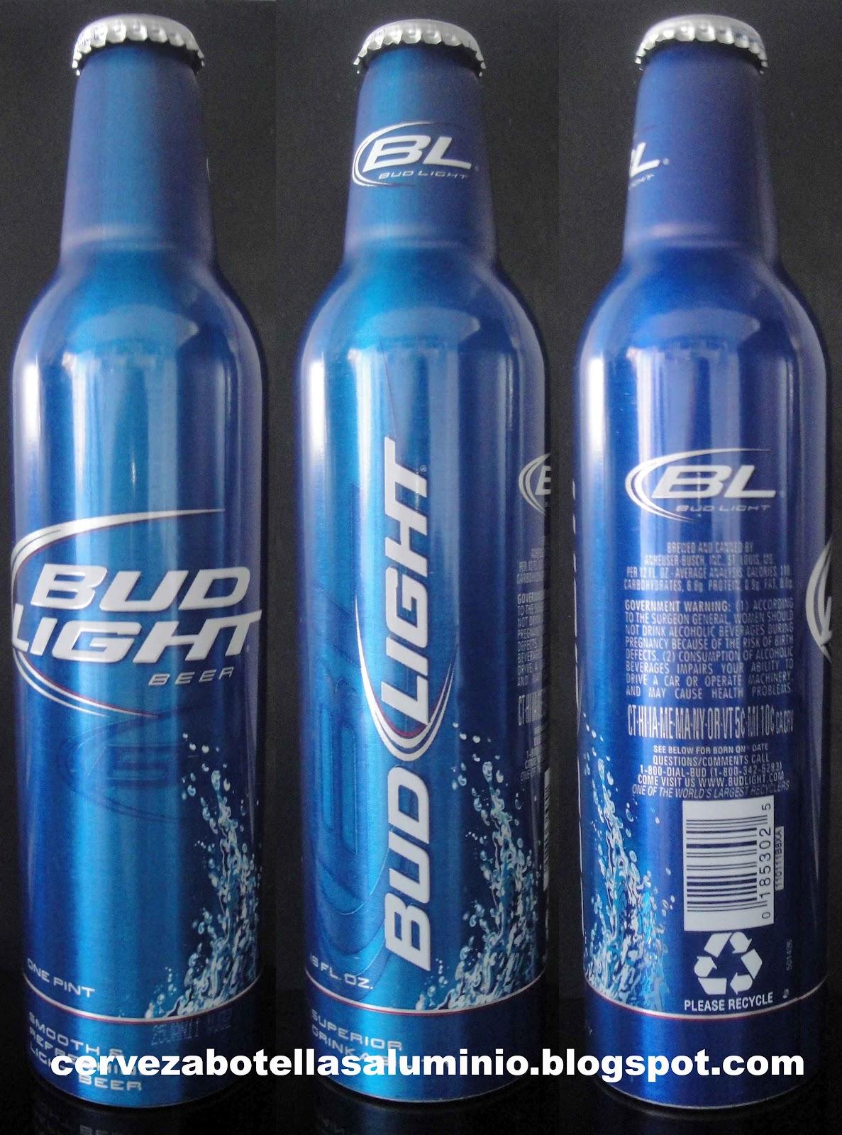 Cerveza Estadounidense Bud Light, Genérica, Sin Alusión A Ningún  Acontencimiento Deportivo O Conmemorativo. Conocida Como