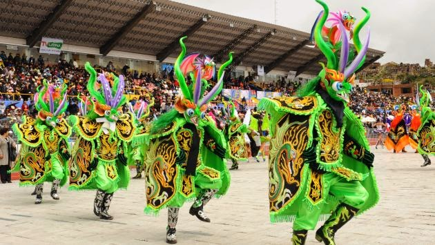 La Fiesta de la Candelaria en Puno, Perú