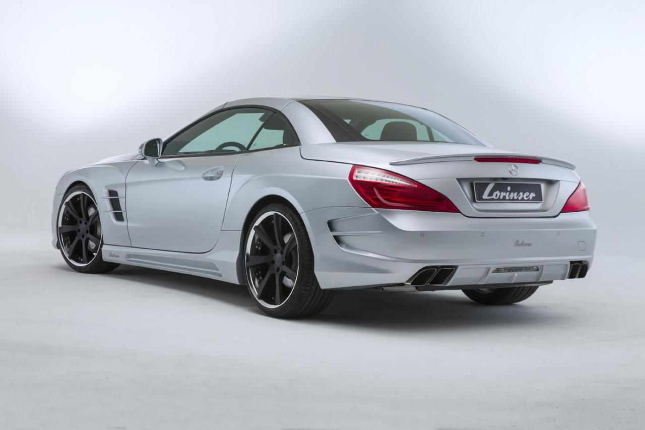 2013 mercedes benz sl 500 with custom body kit by lorinser for Mercedes benz lorinser