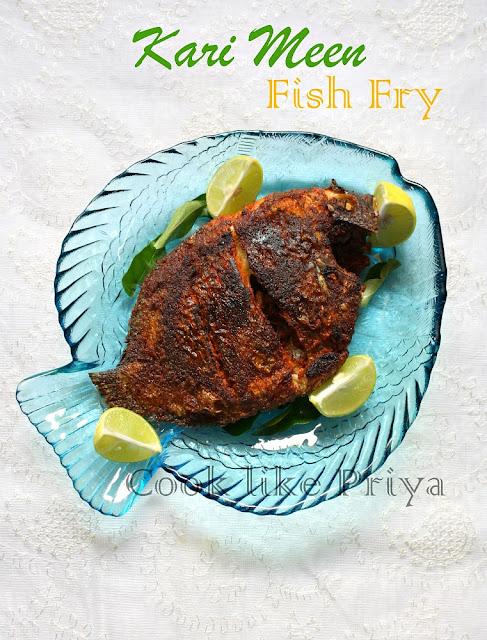 Karimeen fry south indian fish fry recipe forumfinder Gallery