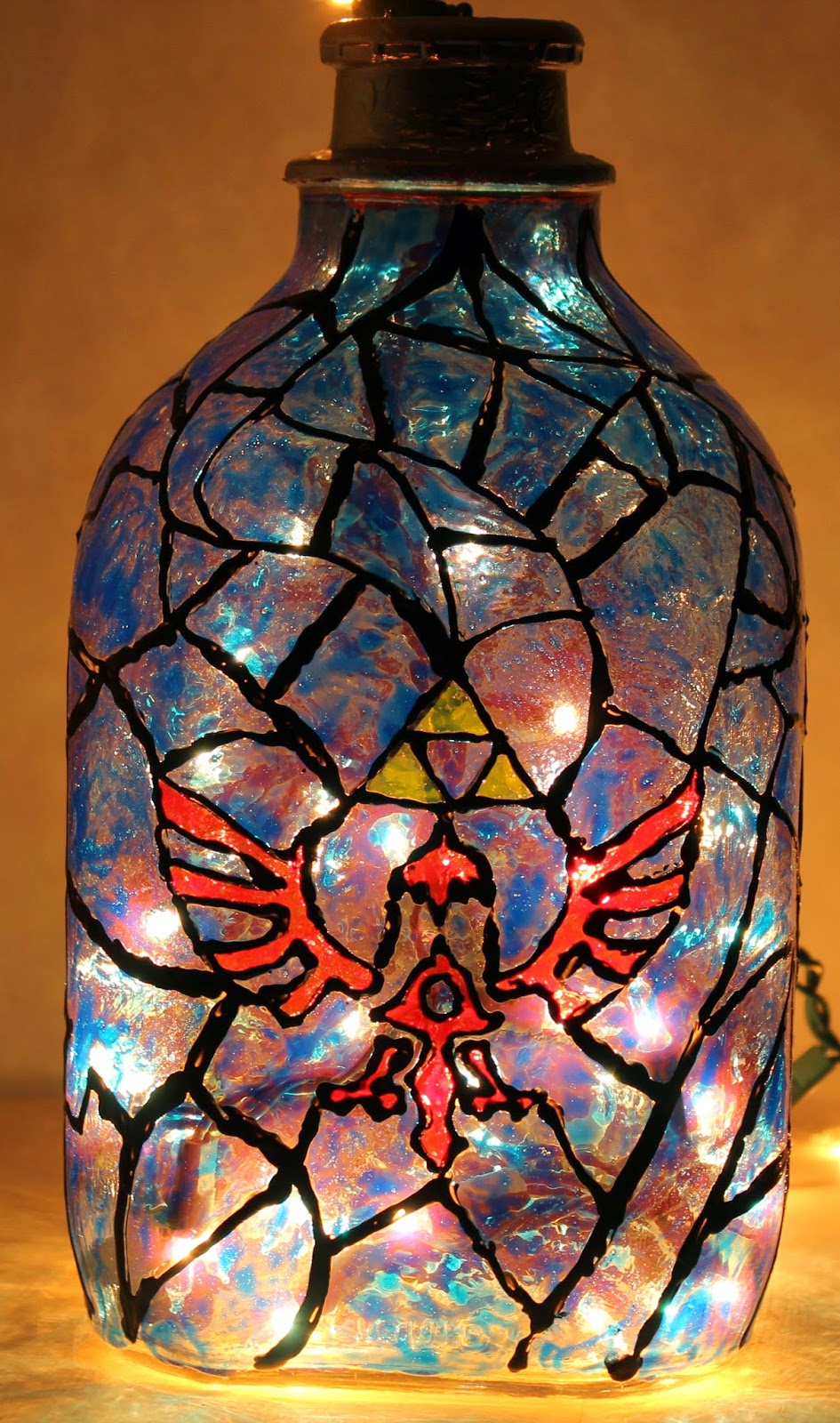 One Awesome Geeky Lamp For All Your Geeky Needs. I Found That It Makes More  Of A Really Cool Decorative Lamp Than Anything!!
