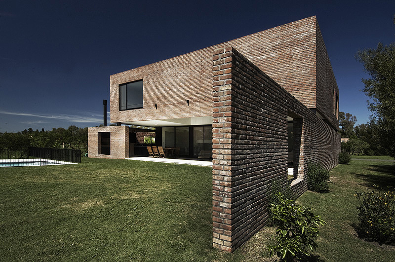 Proyecto casa de ladrillo en el - Casas de ladrillo visto ...