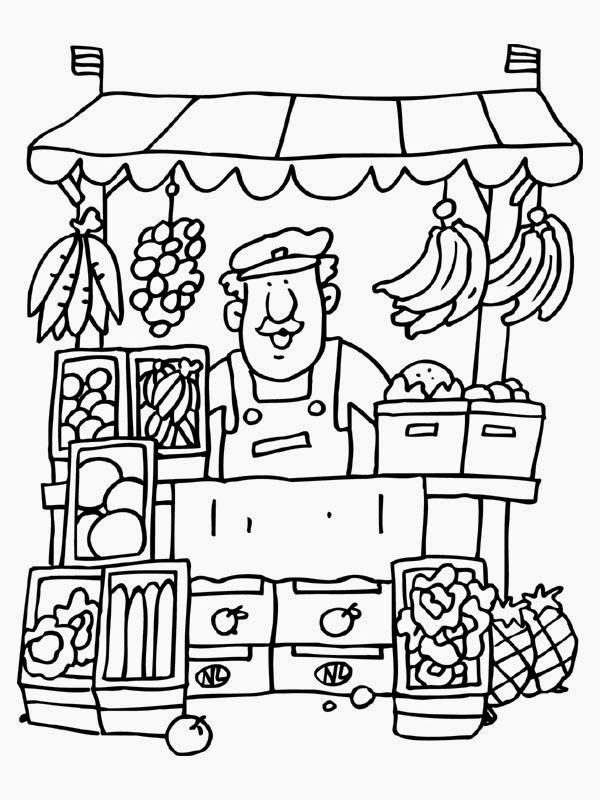 profiss u00f5es - desenhos para colorir