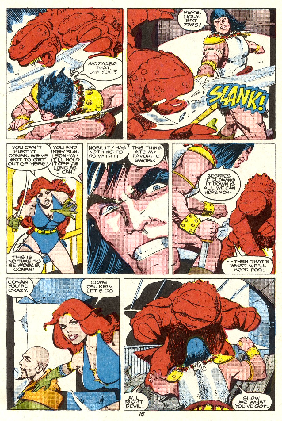 Conan the Barbarian (1970) Issue #204 #216 - English 16