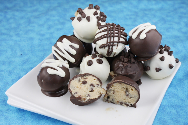 ... Bad and The Delicious: Week 2: Chocolate Chip Cookie Dough Truffles