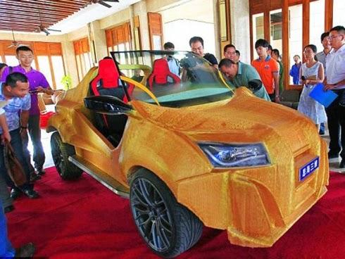 Kereta 3D pertama berjaya di print di China