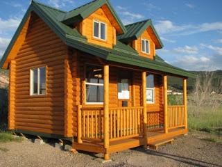 affordable small log homes