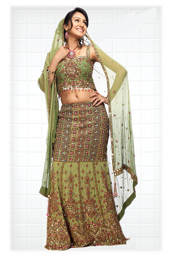 Dresses 2012 Wedding Dresses for Bride Indian Ghagra Choli for Brides