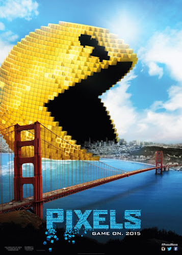 Pixels (BRRip 1080p Dual Latino / Ingles) (2015)