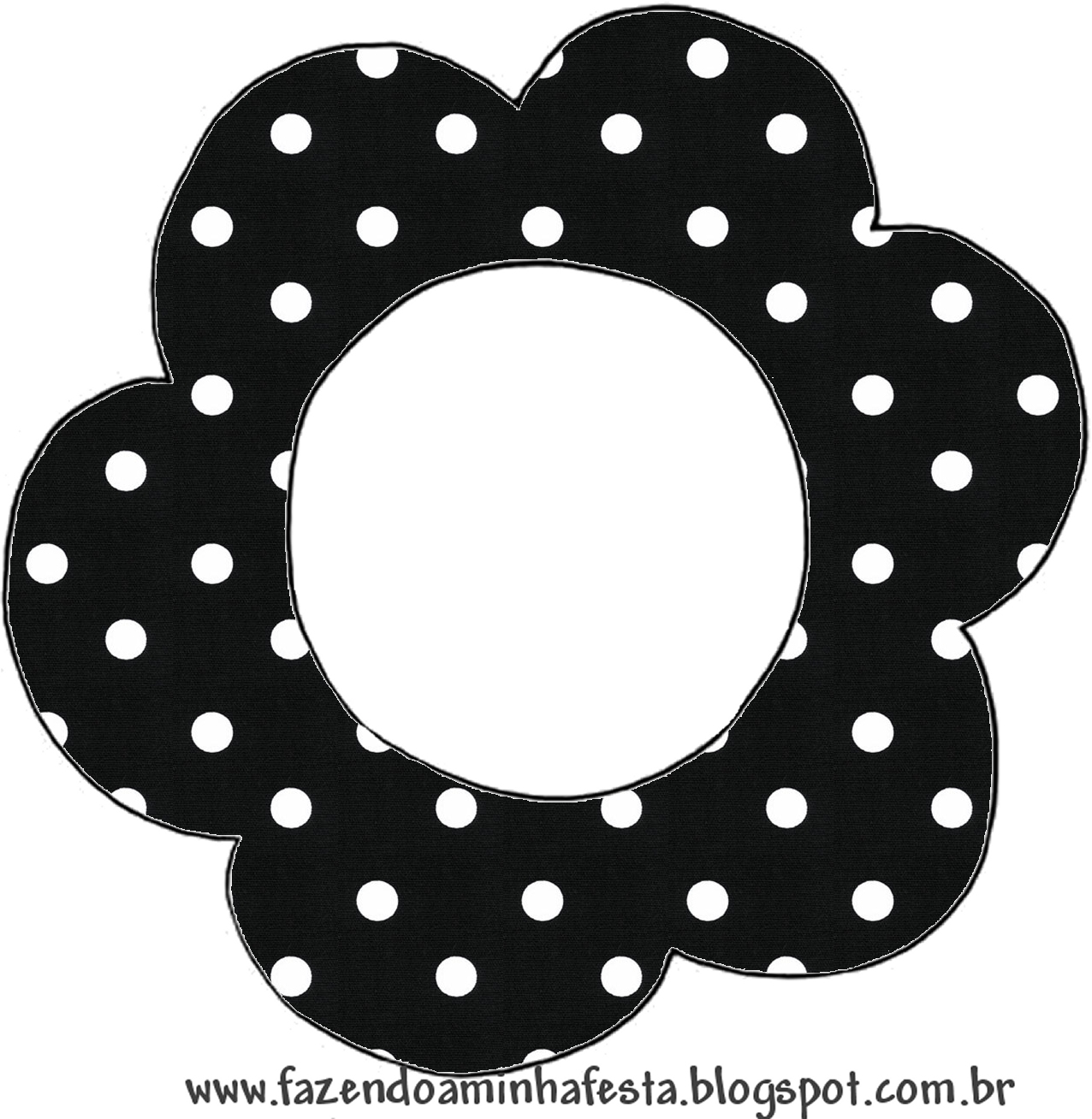 Black with White Polka Dots: Free Printable Invitations for Wedding ...