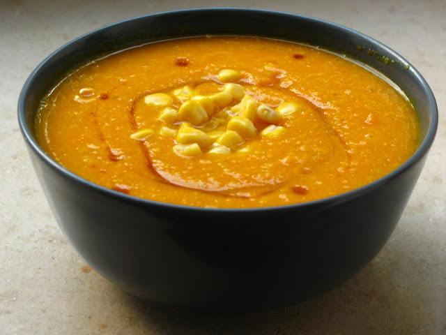 Indianische Kürbissuppe