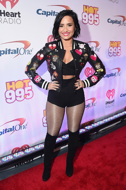 Actress, Model, @ Demi Lovato - Hot 99.5's Jingle Ball 2015 in Washington, DC