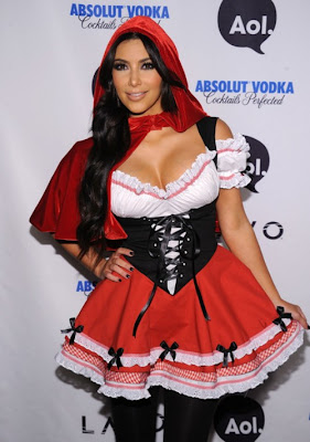 Red Riding Hood Kim Kardashian Costume