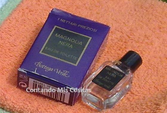 perfume magnolia negra bottega verde