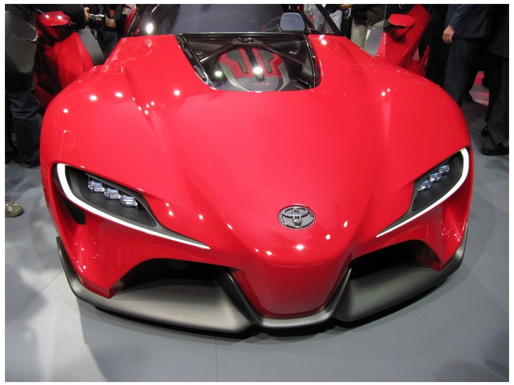 2016 Toyota Supra Ft1 Concept Cars Booster
