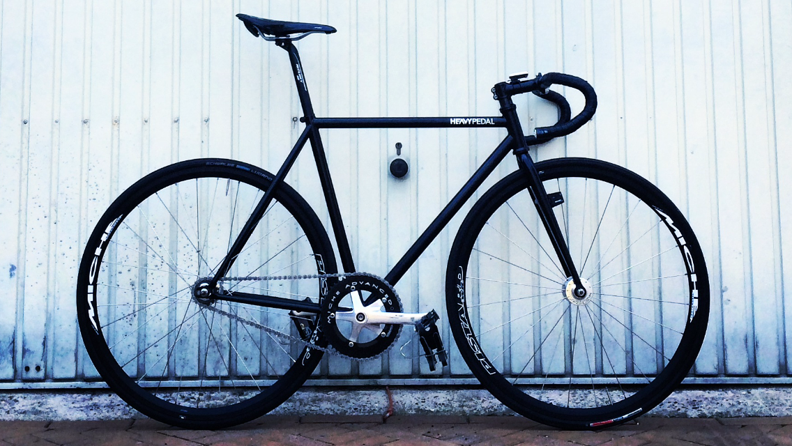 #SendUsYourBike | Focale44 Cr-Mo fixed gear bike by Jeffrey N. from Netherlands