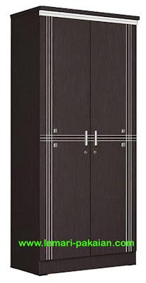 Lemari Pakaian 2 Pintu LP 8895