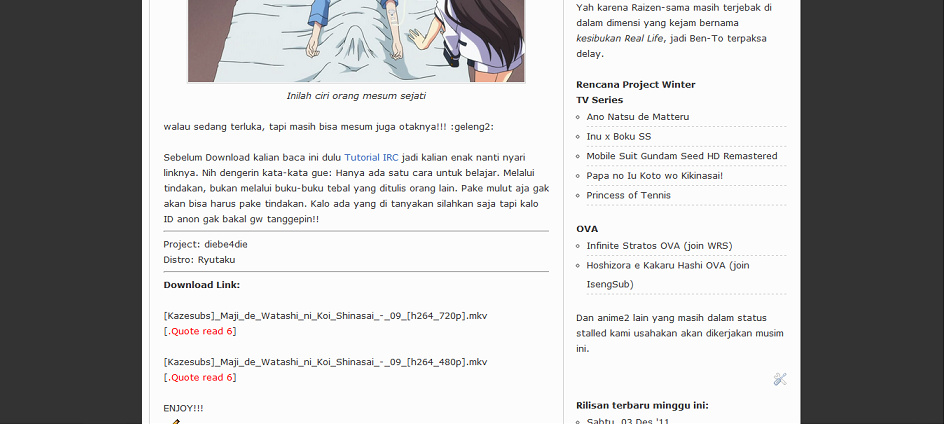 azzz1 Cara Download Anime Dari IRC