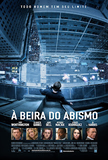 Pôster/capa/cartaz nacional de À BEIRA DO ABISMO (Man on a Ledge)
