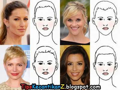 Trend model rambut terbaru 2014 sesuai bentuk wajah