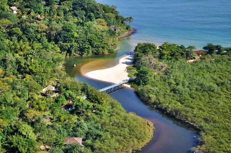 A APA Baleia-Sahy tem a missão de proteger a rica biodiversidade da região. Crédito: Leandro Saad/AE