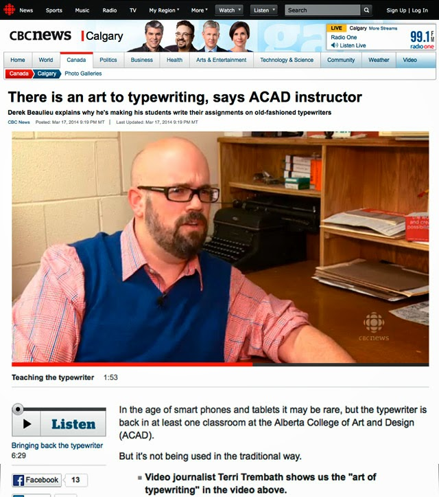 http://www.cbc.ca/news/canada/calgary/there-is-an-art-to-typewriting-says-acad-instructor-1.2576550
