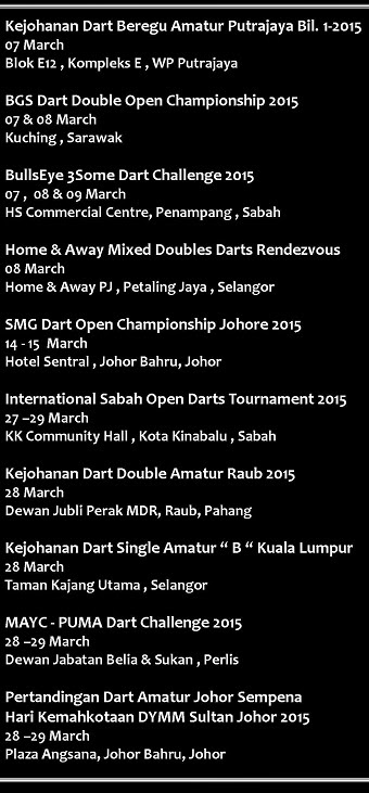 CALENDART MARCH 2015