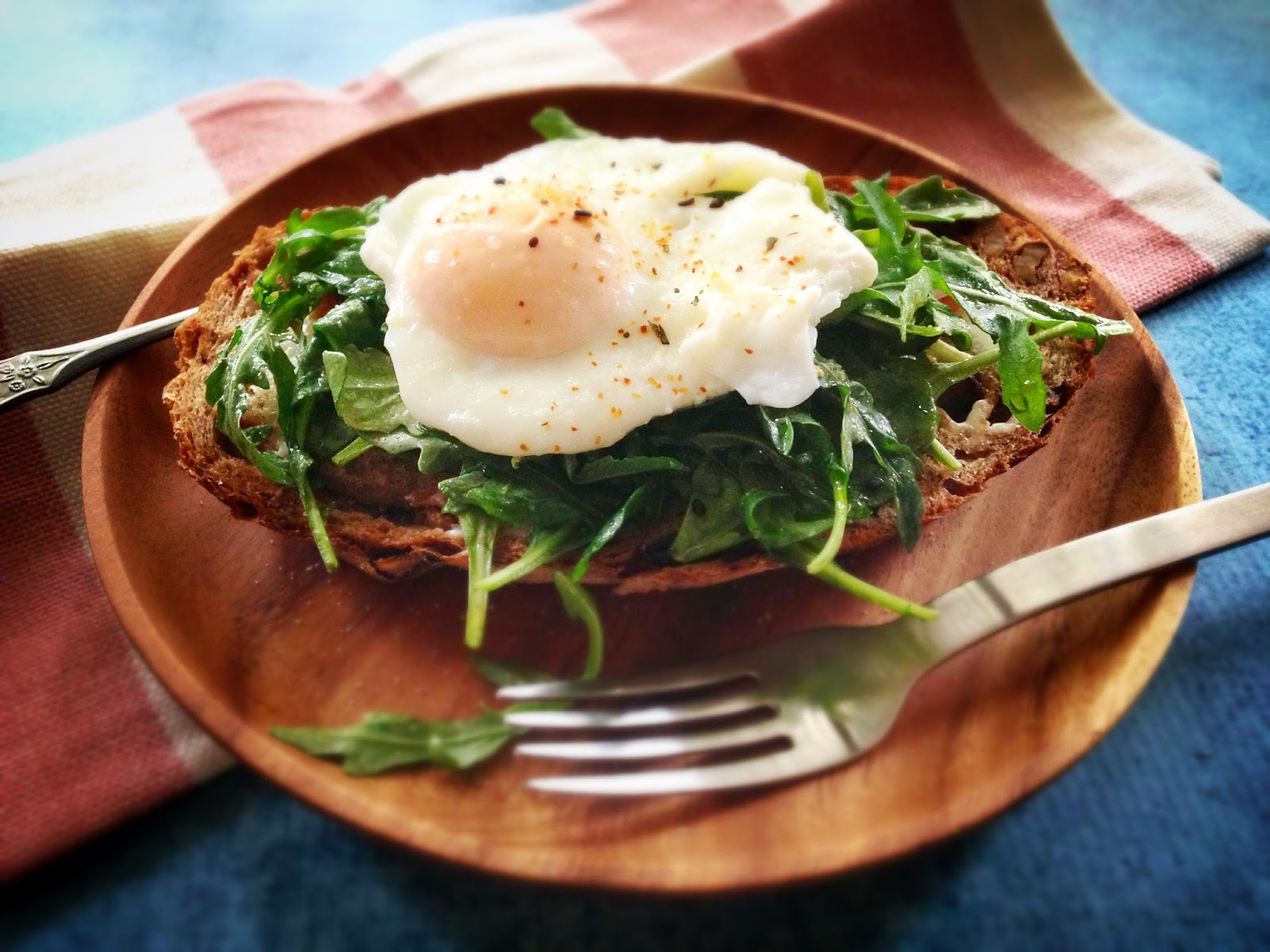 Egg And Prosciutto Open-Faced Sandwich With Tapenade Recipes ...