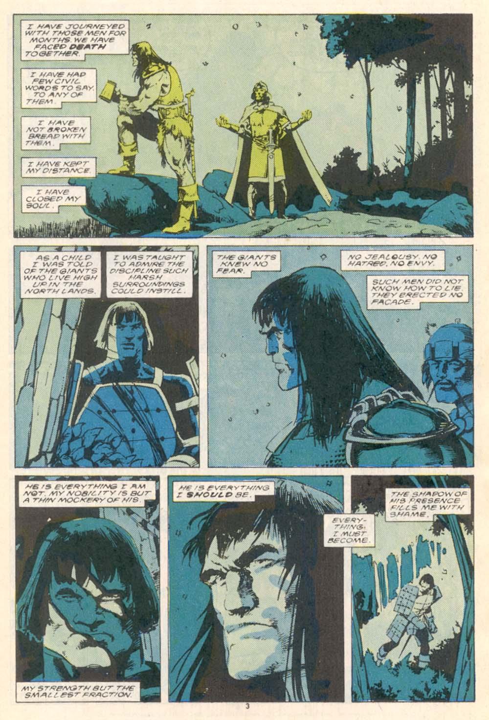 Conan the Barbarian (1970) Issue #208 #220 - English 4
