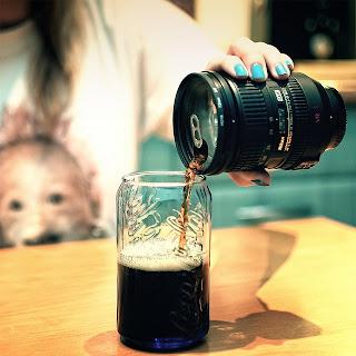 Yaratıcı Tasarımlar - Lens Kupa