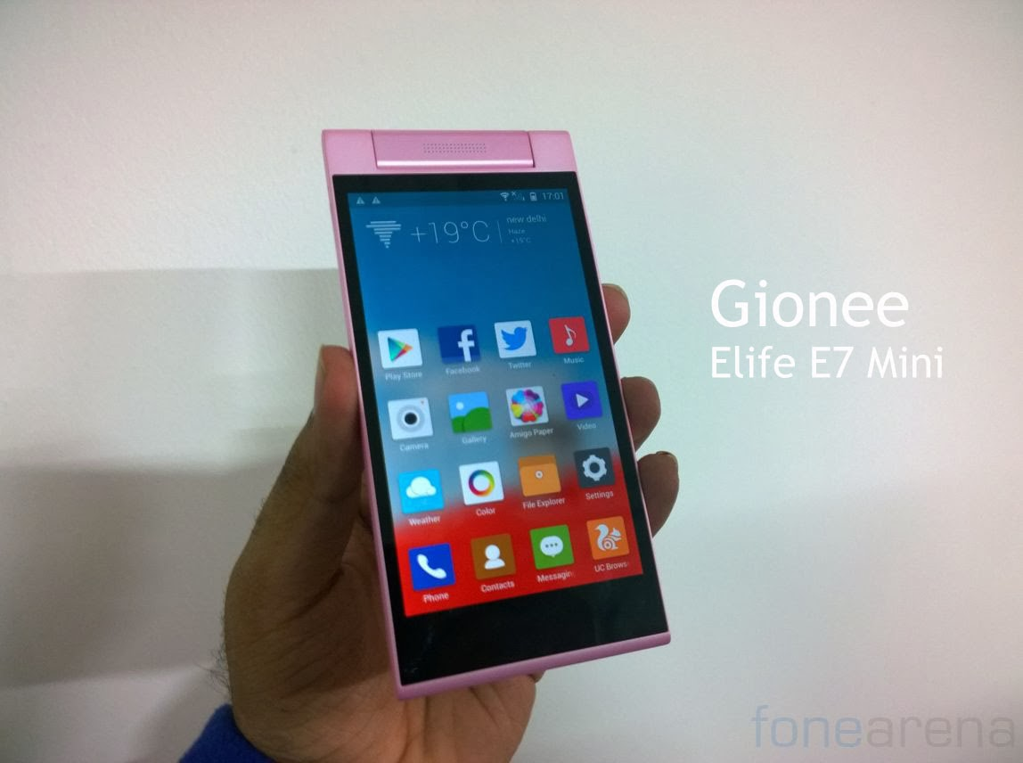 deal gionee elife e7 mini price in india and specifications you wish