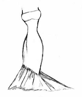 Vestido corte sirena