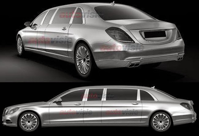 Mercedes Classe S Pullman
