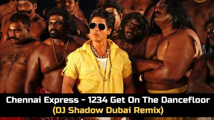 Ahmedabad dj 39 s club adc chennai express 1234 get on for 1 234 get on the dance floor