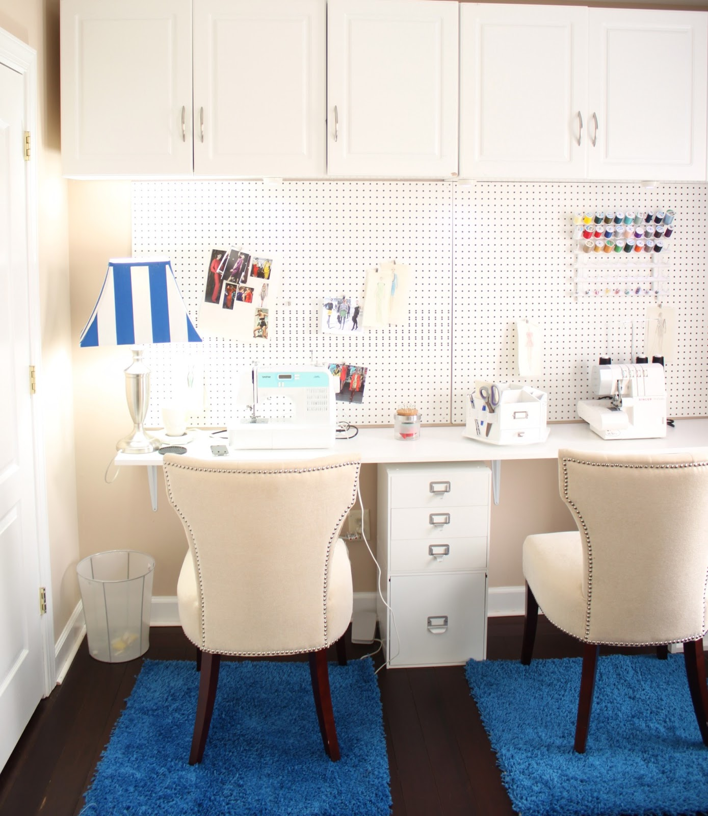 Diy craft room makeover for under beaute 39 j 39 adore for Ikea virtual room