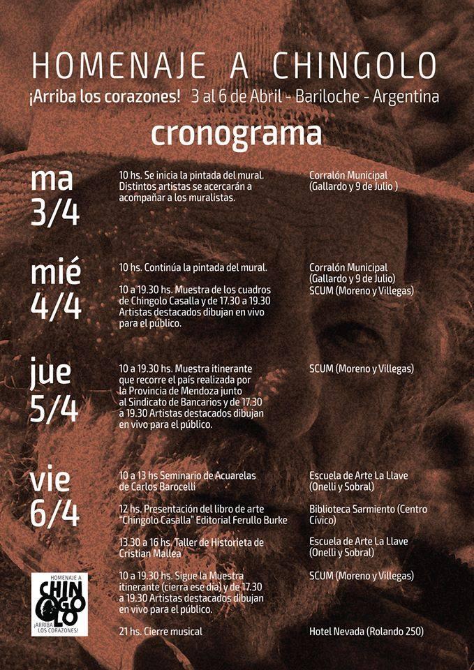 Participamos del  Homenaje a CARLOS CHINGOLO CASALLA