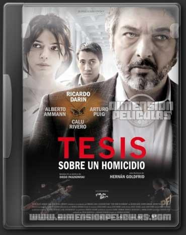 Tesis sobre un homicidio (DVDRip Español Latino) (2013)