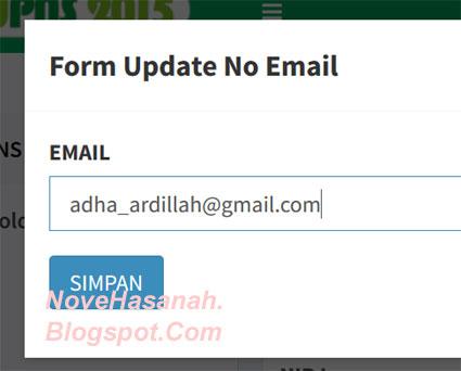 form isian update nomor HP PNS 5 di BKN PUPNS 2015 3