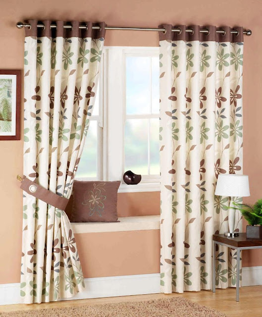 My Home Design: luxury living room curtains Ideas 2011