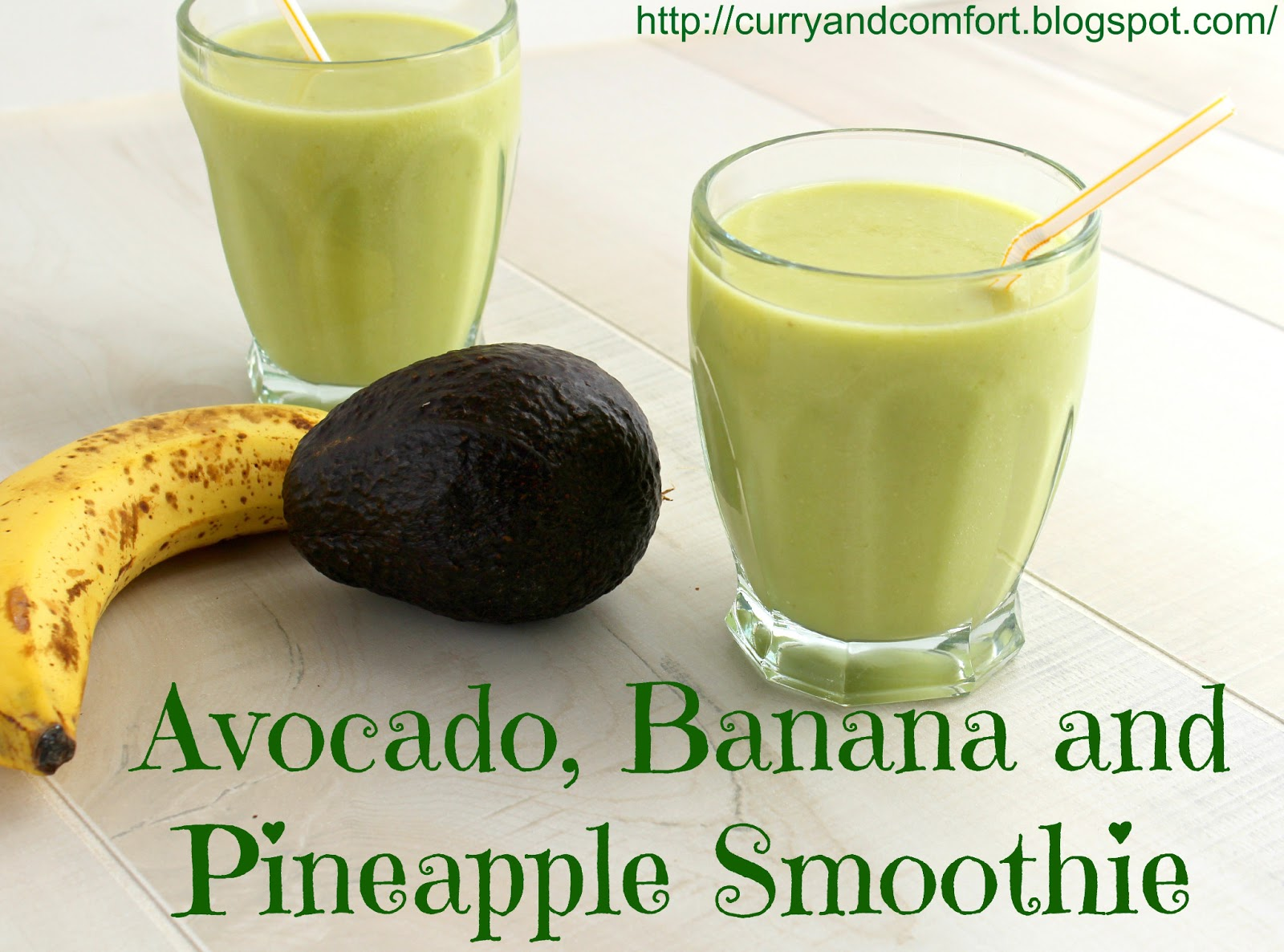 Avocado-Banana Smoothie Recipe — Dishmaps