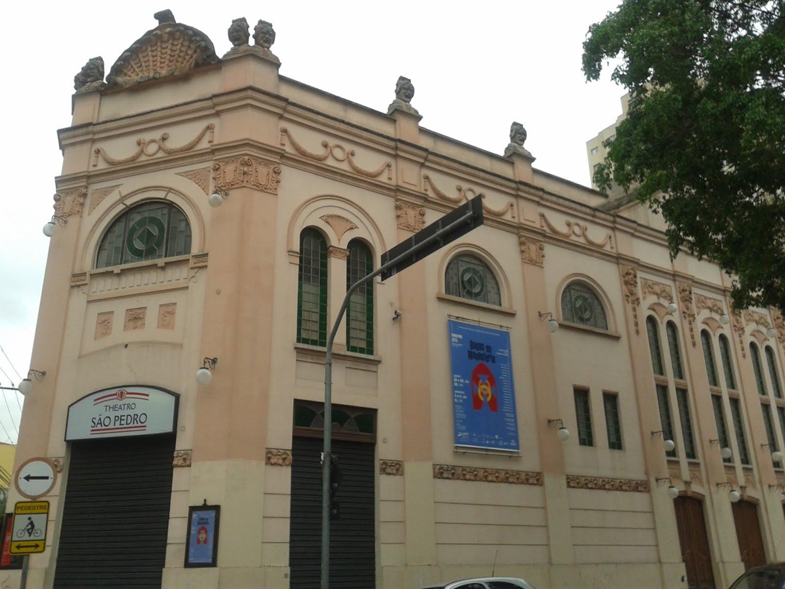 Teatro São Pedro  em São Paulo