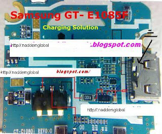 SAMSUNG E1085 CHARGING solution