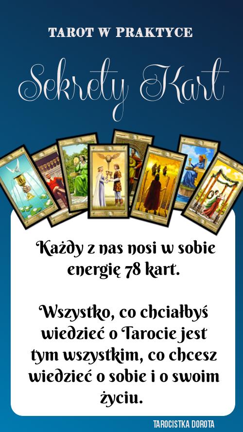 sekrety kart, informacje o tarocie