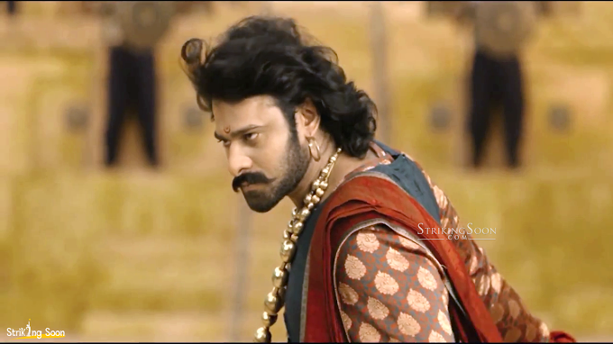 Prabhas in Baahubali First look.