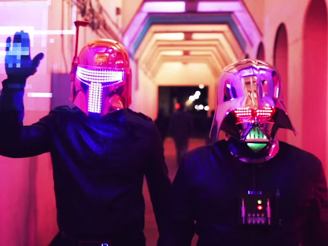 Das wohl abgefahrenste Musikvideo in dieser Woche: Darth Punk - The Funk Awakens