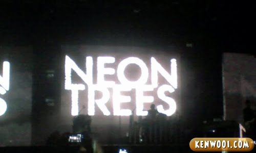 mtv world stage neon trees