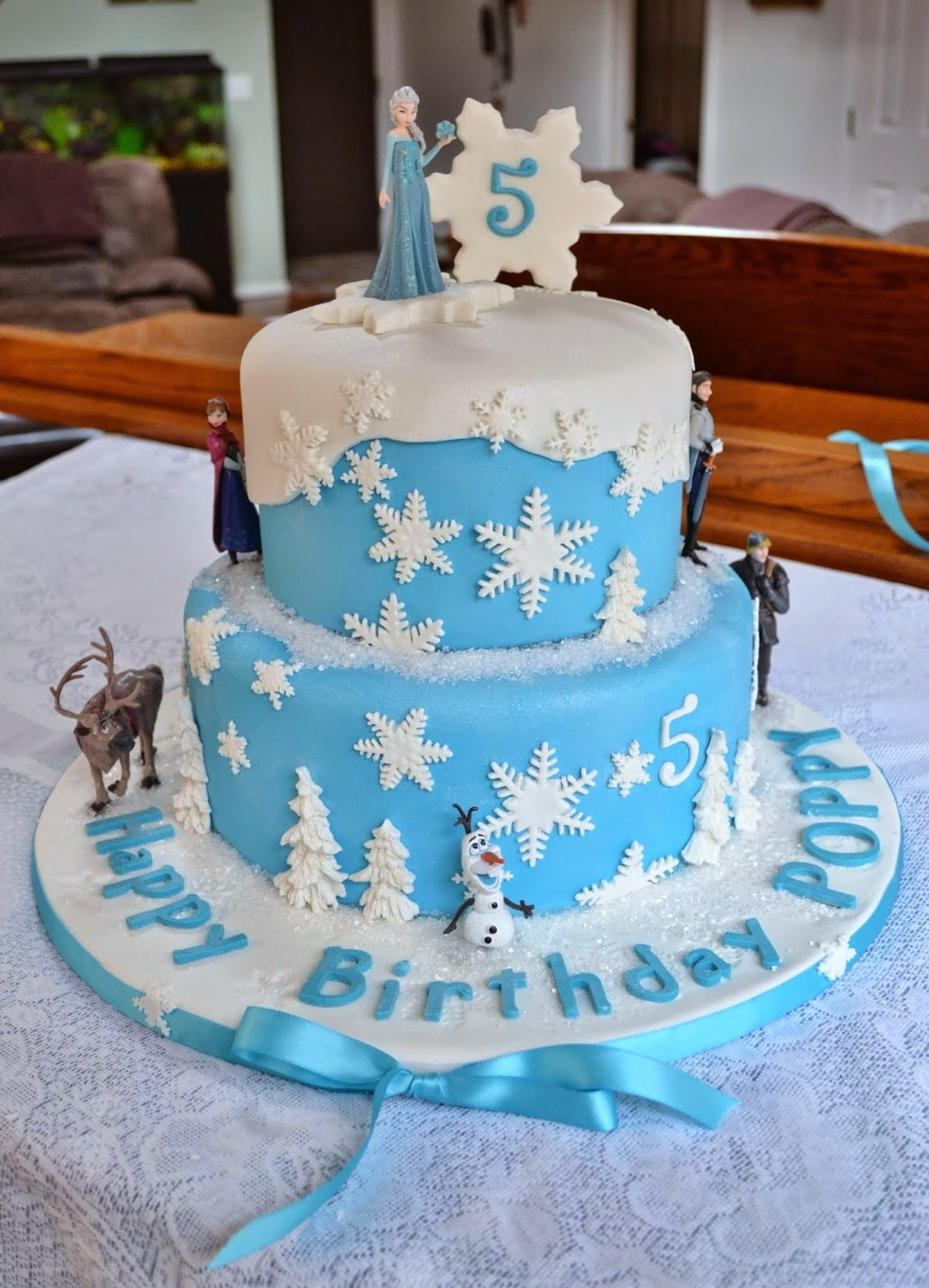 Cake Decorations For The Movie Frozen