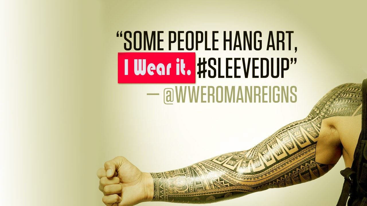 High Definition Quality Wallpapers of WWE Roman Reigns Arm Tattoo HD ...